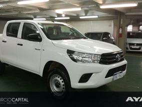 Toyota Hilux 2.7 Nafta 2017 Blanco Excelente Estado