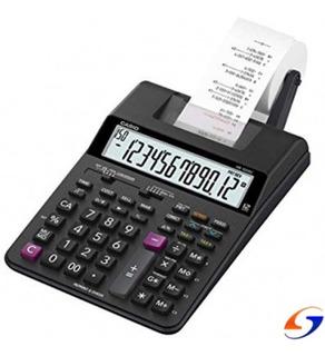 Calculadora Casio Hr100rc Original C/ Rollo Serviciopapelero