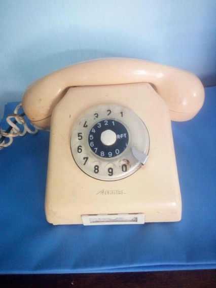 Antiguo Telefono De Disco.excelente Estado