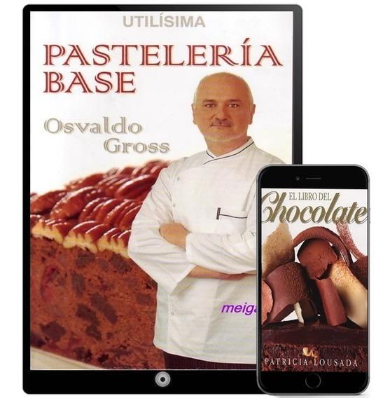 Pasteleria Base Osvaldo Gross Colección 45 Libros - Digital