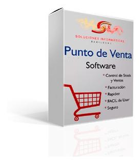 Software Para Kioscos Negocios Control De Stock Caja Ventas