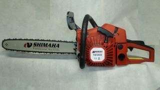 Motosierra Shimaha 58 Cc 18 Espada Muy Potente