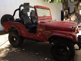 Jeep Willis 4 Cilindros