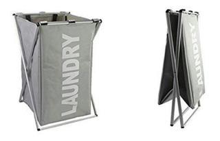 Cesto Plegable Tela Aluminio P Ropa Organizador Virtual Shop