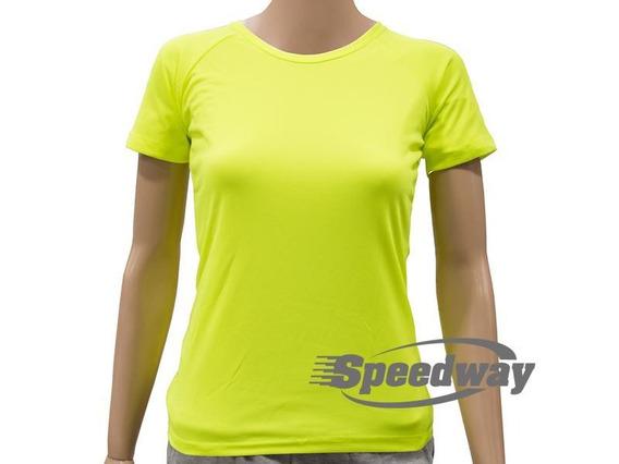Camiseta Dry Cool Dama Fluorescente 10x $99c/u Disershop