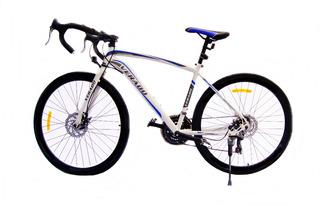 Bicicleta Verado Carrera Pista Ruta Shimano Disco Aluminio