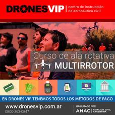 Anac Oficial - Curso Rpas/drones Multirotores /ala Rotativa