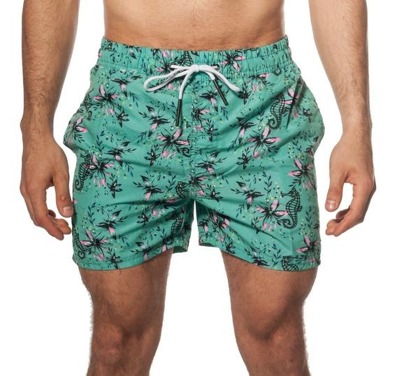 Short Baño Estampado / Bermuda De Hombre Turk Aruba 333/07