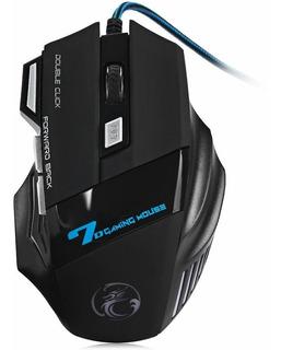 Mouse Gamer 2400 Dpi Usb De 7 Botones Cable Acordonado ®