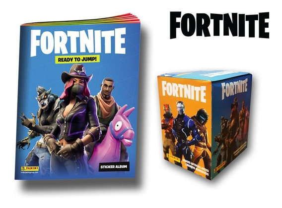 Fortnite - Caja 50 Sobres De Figuritas + Album