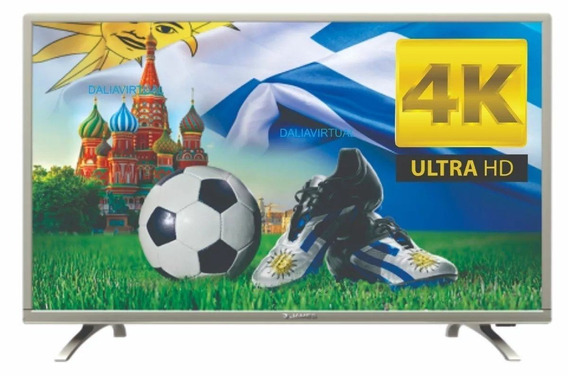 Tv Televisor Led James 49 4k Uhd Smartv S49 D1850