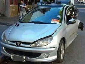 Oportunidad Chocado Peugeot 206 Xs Full Al Dia