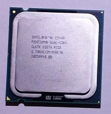 Procesador Dual Core Intel E5400 2.7 Ghz + Sticker