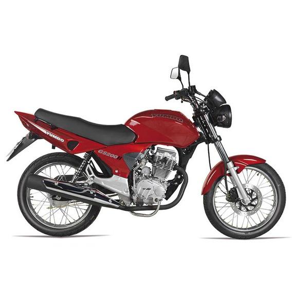 Motos Moto Nueva 0km Yumbo Gs 200 Ii Con Casco Regalo Fama