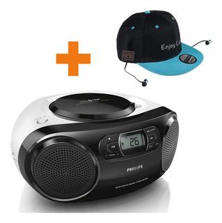 Reproductor Cd Philips Bluetooth + Gorro Bluetooth De Regalo