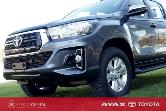Toyota Hilux Sr 4x4 Diesel 2.4 2019 Gris Oscuro 0km