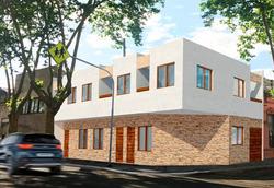 3 Casas A Estrenar En Tres Cruces.