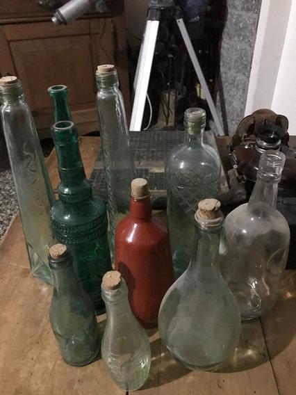 Raras Botellas Antiguas