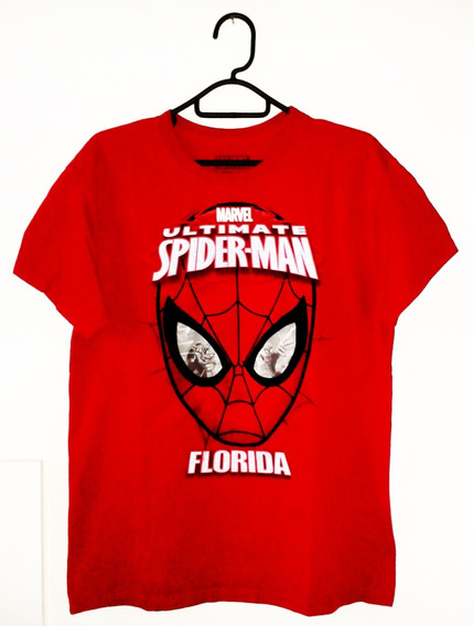 Remera Hombre Araña Marca Marvel Original