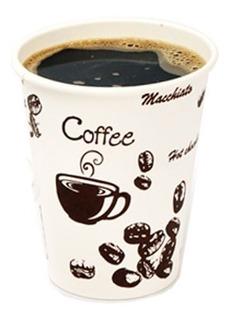 Vaso Descartable Polipapel Para Café Impreso 6oz 180ml 100un