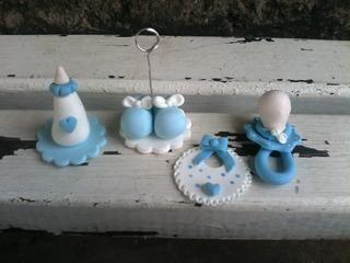 Recuerdos De Nacimiento De Varon.Souvenirs Porcelana Fria Nacimiento Varon En Mercado Libre