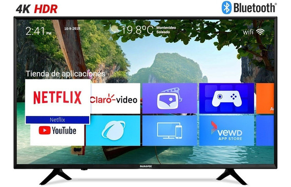Smart Tv Led Panavox 55 4k Ultra Hd Hdr Wifi 1 Año Garantia!