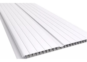Cielo Raso Tabla Pvc 4m 7mm Lambriz Blanco Ceramicas Castro