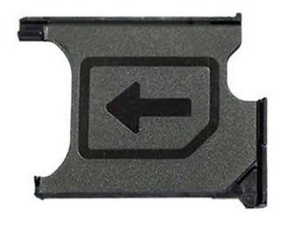 Bandeja Porta Chip Sim Sony Xperia Z1 C9602 C6903 C6906 L39h