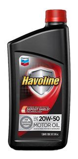 Aceite Nafta Havoline 20w50 | 0.94 Lt | Lubricante Texaco