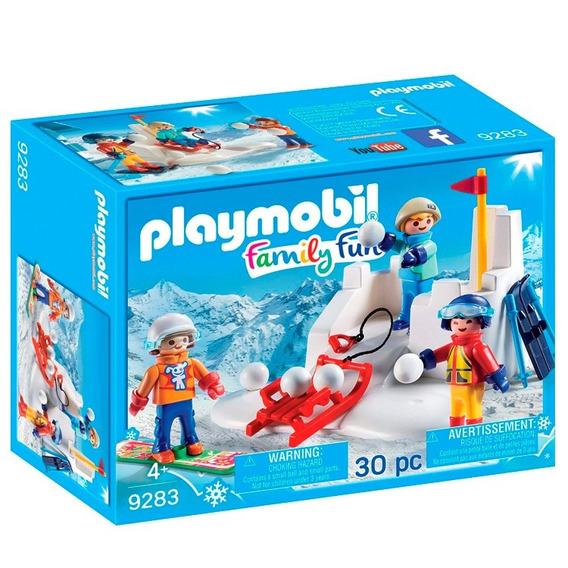 Playmobil Lucha De Bolas De Nieve 49283 - Playmobil