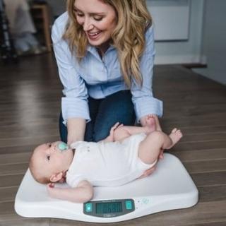 Balanza Digital Para Bebe Bbluv Petit Baby
