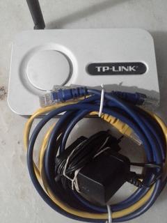 Router Con Cables De Conexión Incluídos. Consulte.
