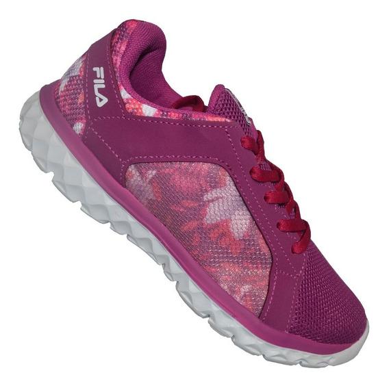 Calzado Fila Lightstep Champión Running Training Dama Fucsia