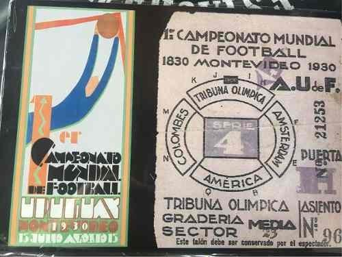 Chapa No Esmaltada Tipo Antigua Deportes Mundial 1930