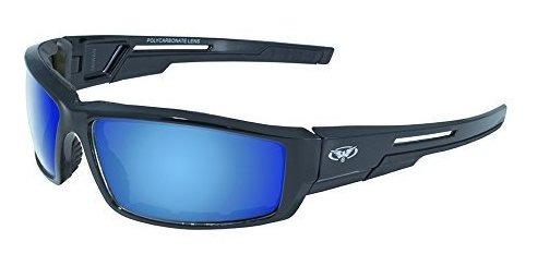 barato mejor valorado fotos nuevas precios increibles Gafas Para Motocicleta Global Vision Sly Gt, Gafas Azules