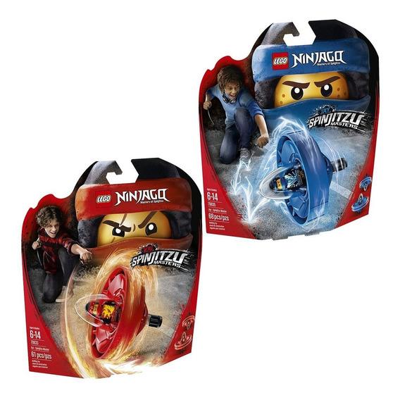 Lego Ninjago Kai Y Jay Maestros Del Spin 70633 70635 El Rey
