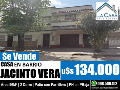 96m2 - 2 Dorm Y Patio Con Parrillero | Acepta Banco!