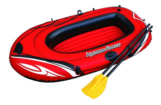 Bote Inflable Rafting Con Remos+inflador + Remos Hts