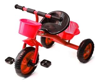 Triciclo Juguete Carrito A Pedal Niña Niño Juego Mvdsport