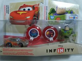 Disney Infinity Race To Space Playset Buzz Lightyear Mcqueen