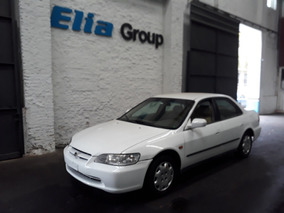 Honda Accord 2001 Entrega 50% + 18 Sin Int. Elia Group