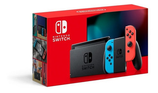 Nintendo Switch 2019 Nueva Version 32 Gb + Vidrio Easybuy