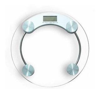 Balanza De Baño 180kg Digital Electrónica De Vidrio Clicshop