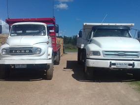 Ford F.14000 Vol Y K 700 2 Eje L0s 2 Al Día U$s 30 Y 14