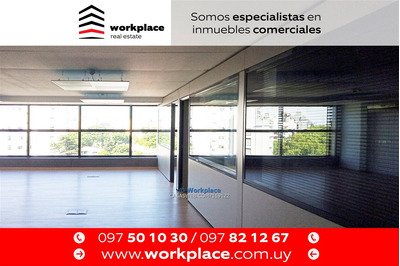 Oficina - Punta Carretas - Alquiler O Venta - Amueblada