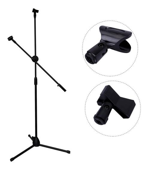 Jirafa Opción 2 Micrófonos Con Pipeta Y Pinza