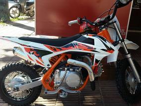 Mini Moto 50cc Cross Niño Tipo Ktm 50 Reserva La Tuya