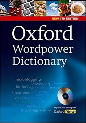 Diccionario Ingles: Oxford Wordpower Dictionary 4th Edition