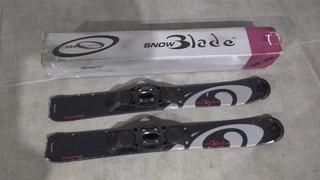 Snowblade, Ski, Snowboard.