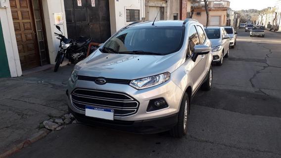 Ford Eco Sport Gris Plata 1.6 Se Año 2017